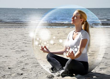 meditar profundamente